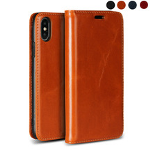 LUCKBUY Classic Real Full-Grain Leather Case for Apple iPhone X XR XS MAX Ultra thin Flip Case for iPhone 7 8 6 6s iPhone 8 Plus стоимость