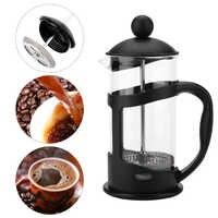 350 600 1000ml cafetière méthode Pot de pression français filtre presse Pot percolateur résistant à la chaleur outil pour verre thé filtre tasse