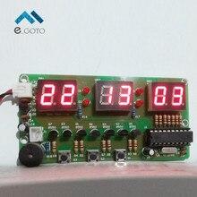 C51 Цифровые Электронные Часы Люкс DIY Комплекты Шесть 6 Бит Электронных Частей и Компонентов, Электронного Производства