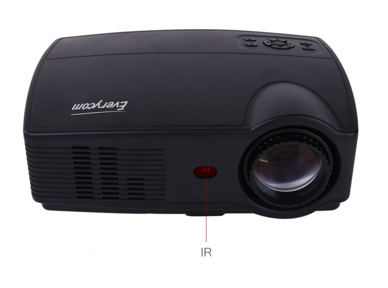 Everycom X9 LED 720P projectors (7)