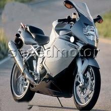 Parafusos + Presentes + K1200S PRATA 05 06 07 08 carroçaria Carenagem da motocicleta para BMW K1200S 2005-2008 ABS kit de plástico