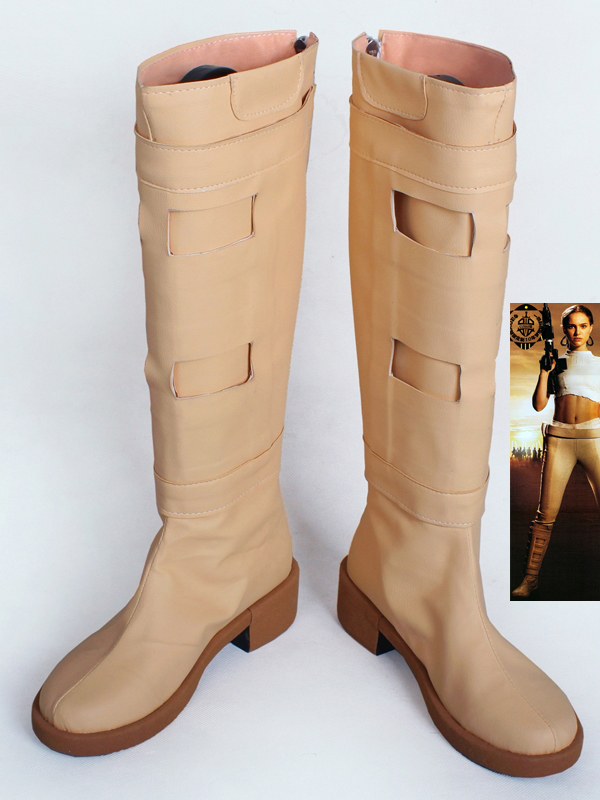 Star Wars The Force Awakens Padme Naberrie Amidala Moive Cosplay Boots Women Cosplay Costume Party Shoes Custom Made Boots