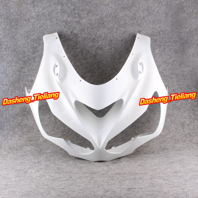Upper Front Cover Cowl Nose Fairing for Kawasaki Ninja ZX14R 2012 2013 2014,Injection Mold ABS Plastic, Unpainted