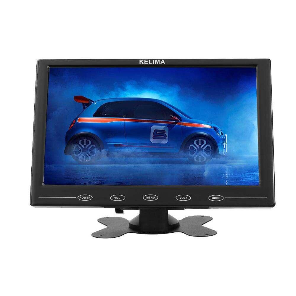 9 pouces HDMI VGA AV affichage multifonction voiture MP5 lecteur affichage télécommande affichage tête haute