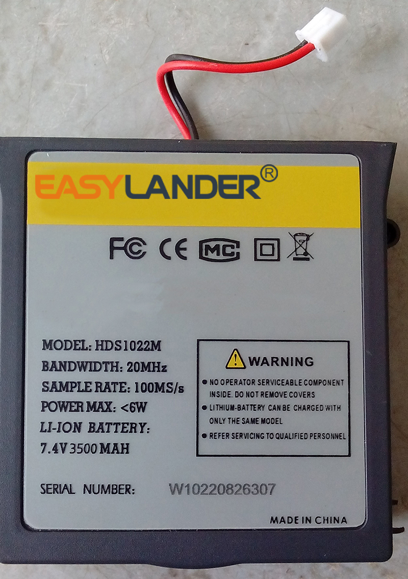 Easylander HSD1022M 7.4V 3500mAh Li polymer battery For omon Handheld Oscilloscope Series battery DVD GPS power bank стоимость