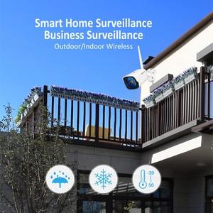 Image 3 - Jennov 4CH 5MP אודיו וידאו מעקב אלחוטי NVR ערכת אבטחת מצלמה מערכת CCTV סט H.264 + WiFi HD חיצוני IP מצלמה IP66