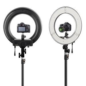 """Image 3 - Fotopal fotoğrafçılık LED halka ışık makyaj için 13 """"5500 K kısılabilir kameralı telefon fotoğraf stüdyosu Video lamba Youtube ile tripod standı"""