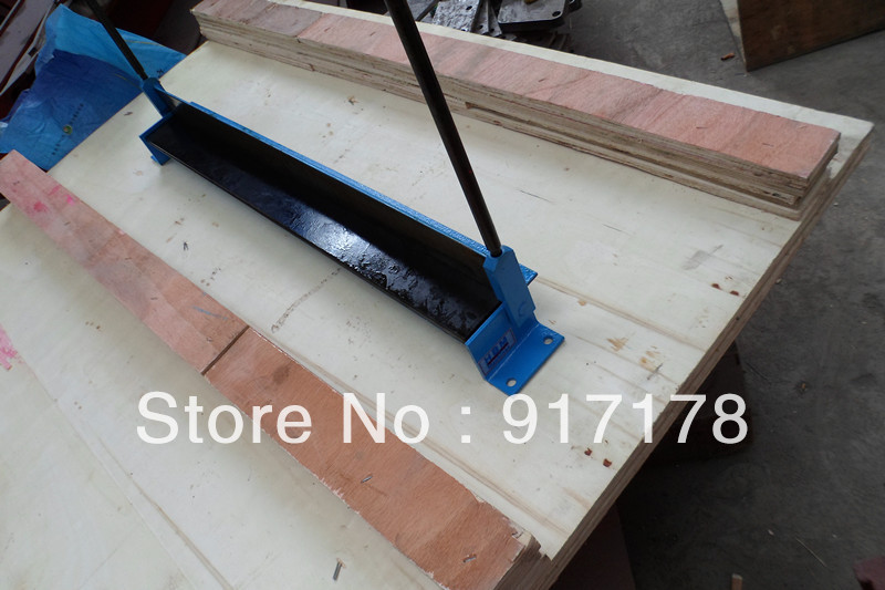 760*1.2 hand brake manual operation bending machine folder machinery tools