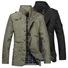 2019 Men Jacket Coat Long Section Fashion Trench Coat
