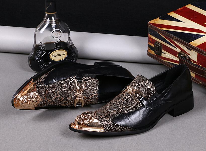 Hommes Véritable Verni Or Mocassins Chaussures Italiennes Marque Or argent Formelle Mariage De En Parti Cuir Nouveau Bal Robe Luxe Pour LzGMqVUpjS