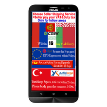 Original Asus ZenFone 2 Laser Snapdragon Octa Core 3GB RAM 32GB ROM ZE601KL Mobile Phone 5.5'' FHD 13.0MP Smartphone