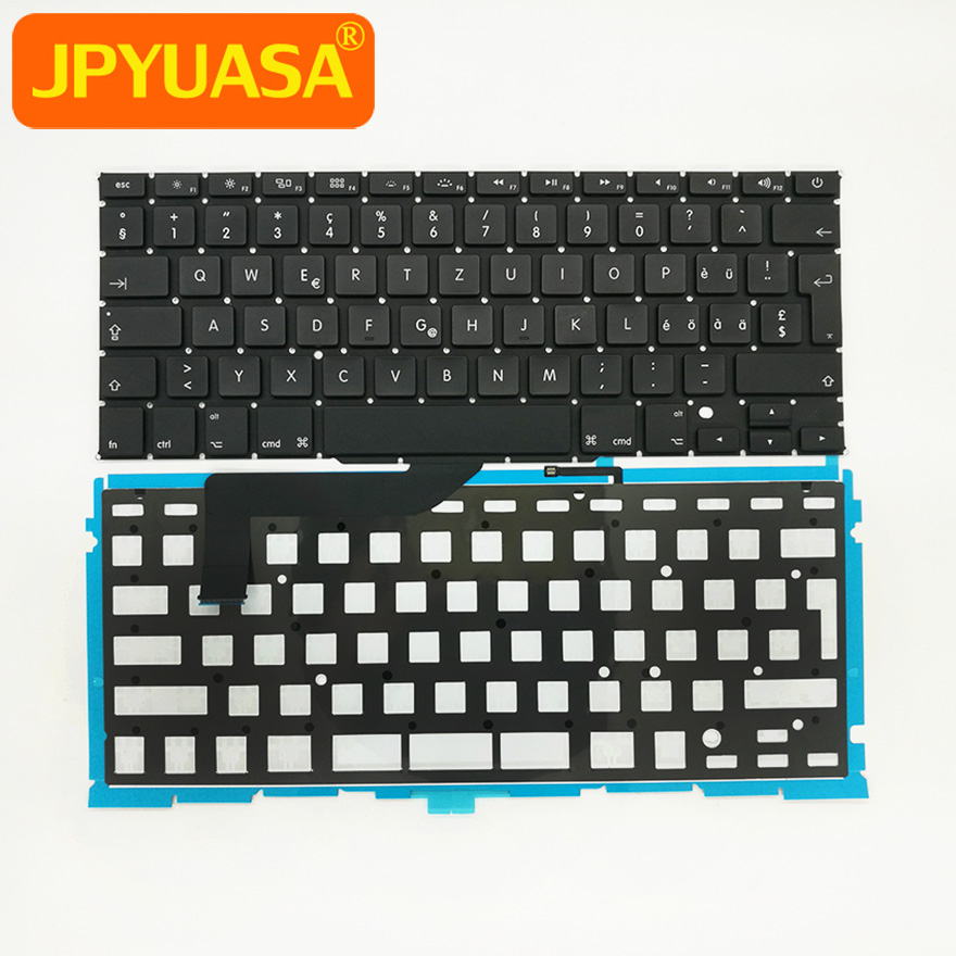 "5pcs/lot New Laptop Keyboard Switzerland Swiss Keyboard with Backlight For Macbook Pro 15"" A1398 2012-2015"