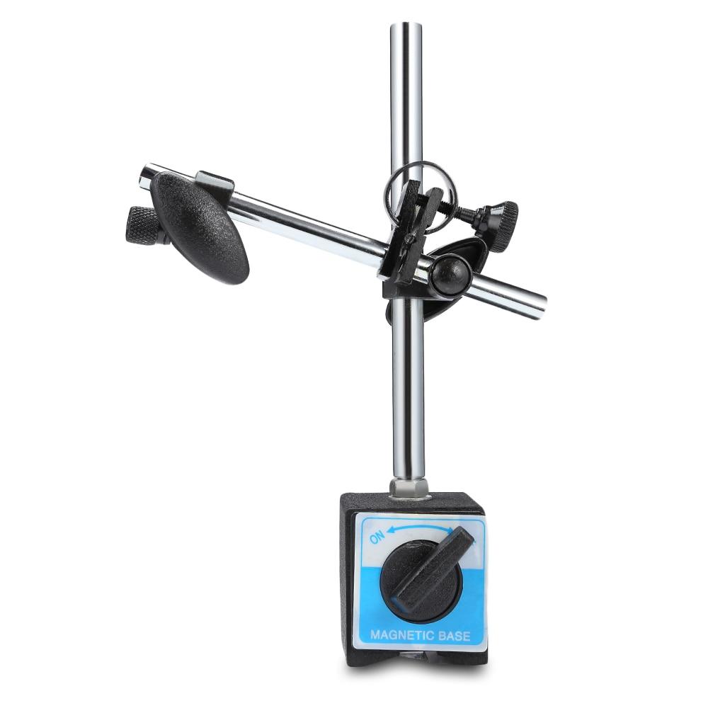 Universal Large Suction Magnetic Metal Stand Holder Dial Gauge Indicator Base 30kg Pull Sucking Dial Indicator Base