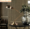 Simple creative personality retro rustic restaurant bar industrial loft bedroom lamp, material: iron, E27, AC110-240V.