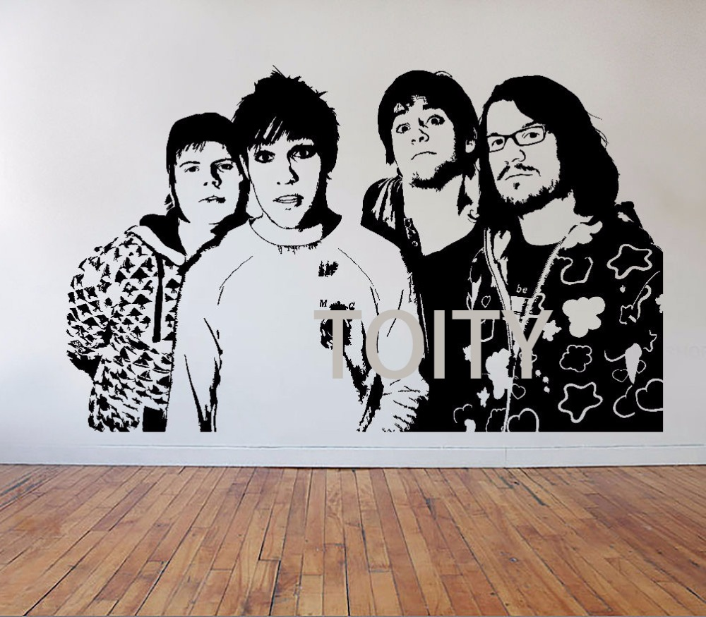Aliexpress Com Buy Fall Out Boy Wall Stickers Poster