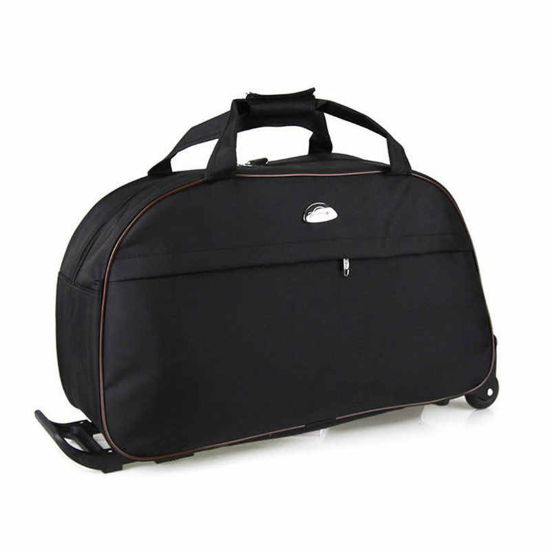 ef8fe2804dba ... New Waterproof Rolling Luggage Bag Thick Style Rolling Suitcase Trolley  Luggage Women Men Travel Bags Suitcase With ...