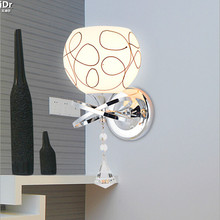 Современный минималистский стены спальни лампы круглый для проектов ночники зеркало передние лампы освещения лестницы Настенные Светильники Rmy-0286