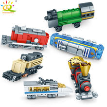 354pcs Colourful Creator Train Building Blocks Legoing City Construction Rails Vehicle Bricks Toys For Children lepin new city 02118 the cargo rc train set compatible 60198 remote control power train with rails building blocks bricks toys