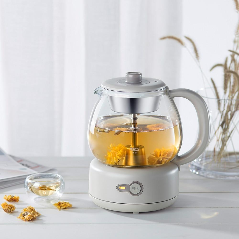 Tea kettle automatic steam black tea pu 'er electric health pot glass mini office
