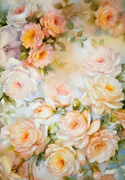 Champange roses photo background floral photography backdrops  for wedding photo studio vinyl printing photographic background shengyongbao 300cm 200cm vinyl custom photography backdrops brick wall theme photo studio props photography background brw 12