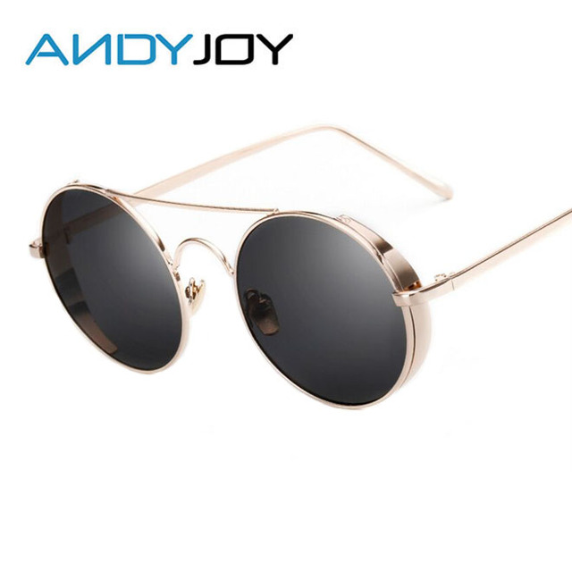 Femmes Femmes Steampunk Soleil Soleil lunettes Hommes de ANDYJOY de lunettes  Ronde aw5d1q1v 553ea010ff44