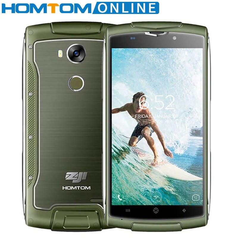 Galleria fotografica Originale Homtom zoji Z7 5.0 Pollice HD anti-caduta Impermeabile <font><b>SmartPhone</b></font> Quad Core 16 GB + 2 GB 4G FDD-lte Antipolvere Del Telefono Mobile