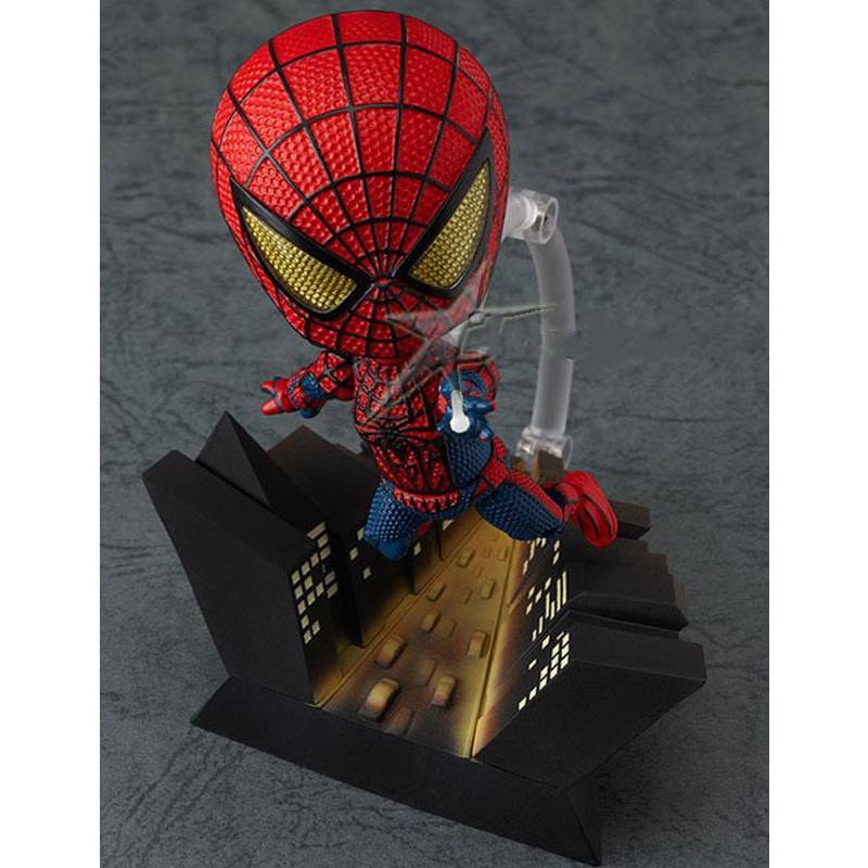 Free Shipping Cute Nendoroid 4 Spider-Man #260 Spider Man Spiderman PVC Action Figure Collection Model Toy free shipping cute 4 nendoroid touhou project flandre scarlet pvc action figure model collection toy 136 mnfg036