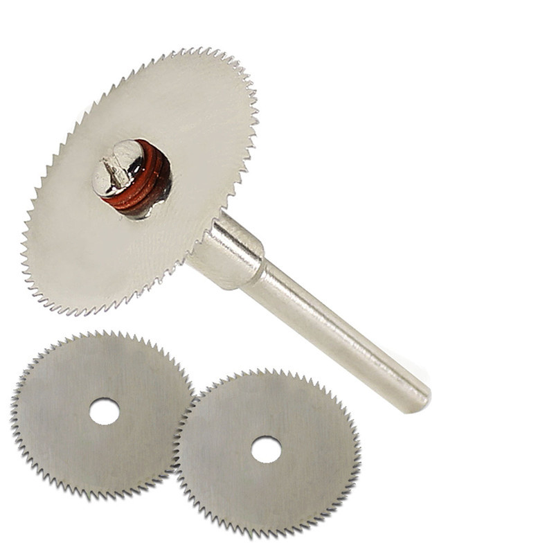 6pcs/set Wood Cutting Disc Dremel Rotary Tool Blade For Dremel Cutting Tools Woodworking Tool Cut Off Dremel Accessories