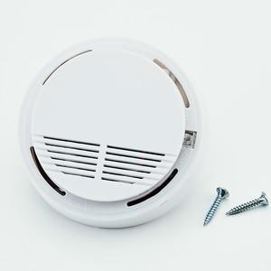 Image 5 - Freies Verschiffen! 433mhz Nutzung feuer wireless Home Einbrecher Sicherheit Alarm FÜR GSM alarm system NEUE Weiß 8 stücke drahtlose rauchmelder