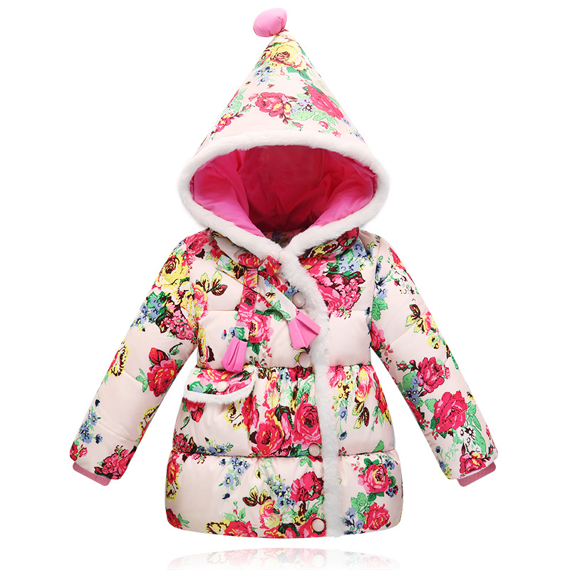 winter down jacket for gids ciothes children coats thicken duck down jackets girls hoode fiood floral print snowsuits clothing casual 2016 winter jacket for boys warm jackets coats outerwears thick hooded down cotton jackets for children boy winter parkas