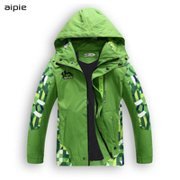 For Boys Spring Autumn Wear Children Boy S Outerwear Casual Sporty Kids Clothes Double Deck Waterproof