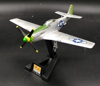 1:72 World War 2 P51D Fighter Model The Battlefield of Australia Trumpeter 36300 Collection model