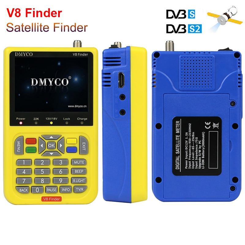 New Digital Satellite Finder Meter HD 1080 p DVB-S2/S Ad Alta Definizione TV satellitare Ricevitore Del Segnale Strumento MPEG-4 dvb s2 Satfinder