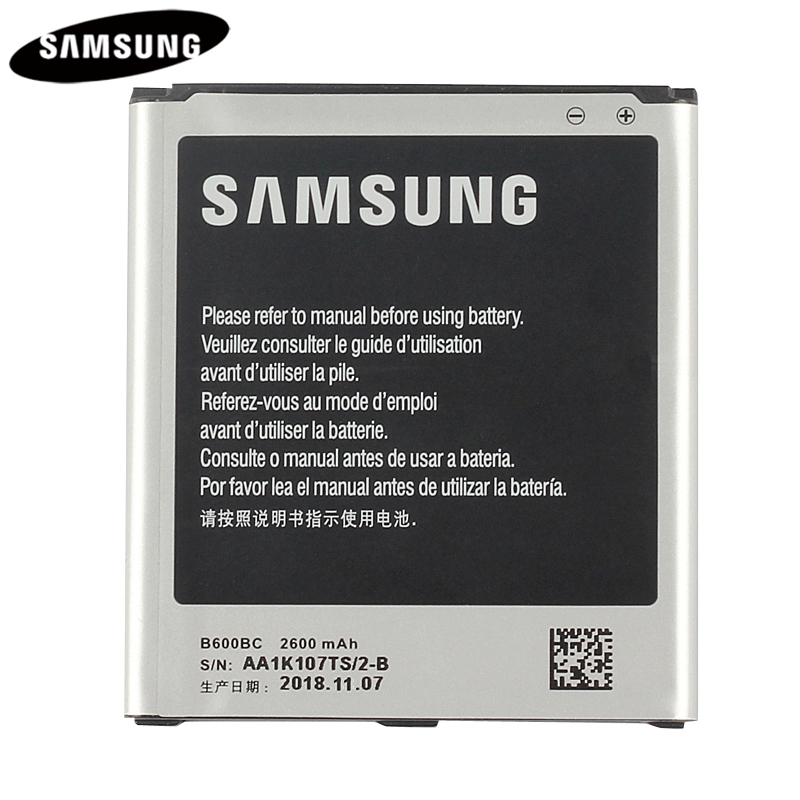 100% Original Replacement Battery B600BC For Samsung GALAXY S4 I9500 I9505 I9506 I9507 I9508 SCH-P709E P709E i959 i337 2600mAh
