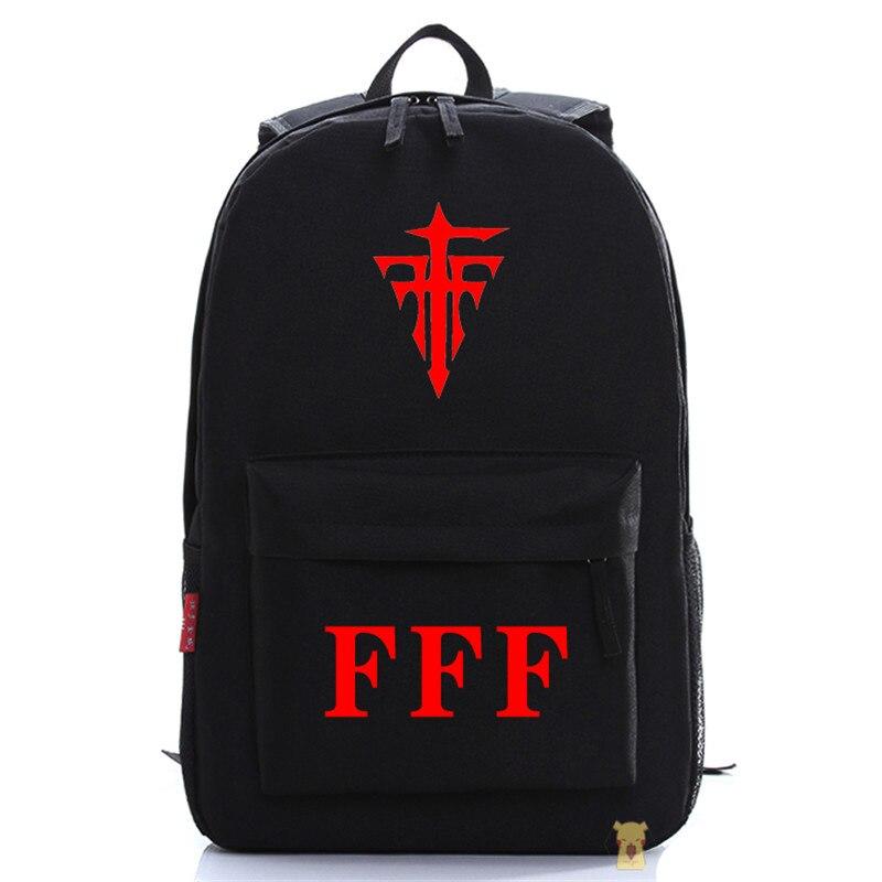 695e4a07fd7b Mihnah FFF рюкзак модные оксфорды унисекс с рисунком Плечи ноутбук Сумки  школьный Бесплатная доставка