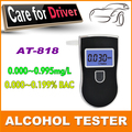 1Set 2015 Hot Portable Mini LCD Display Digital Alcohol Breath Tester Professional Breathalyzer Alcohol Meter Analyzer Detector
