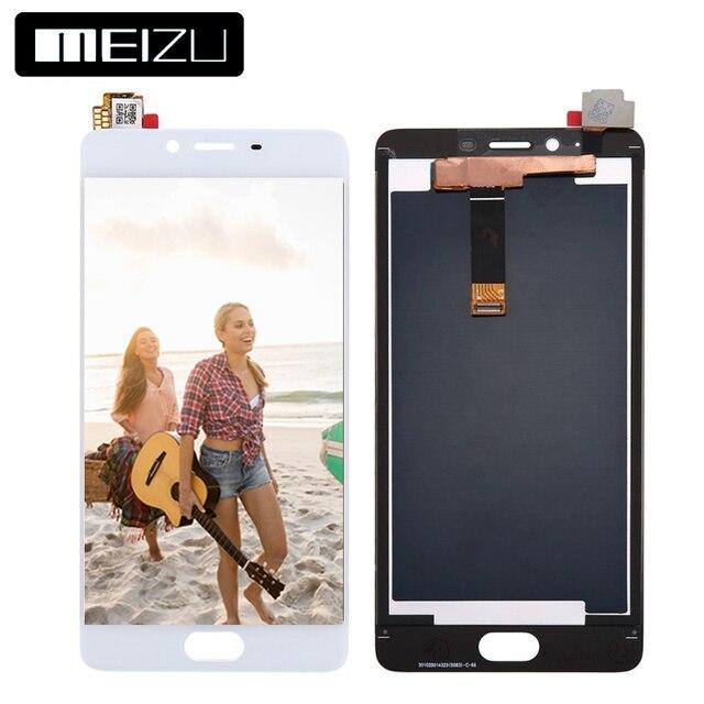 100% тестирование 5.5 дюймов 1920x1080 Для Meizu meilan e2 ЖК-дисплей Дисплей Сенсорный экран планшета Ассамблеи Запчасти для авто