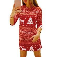 2746078c53a0a Popular Reindeer Christmas Dress-Buy Cheap Reindeer Christmas Dress ...