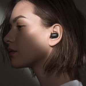 Image 4 - Xiaomi Redmi Airdots TWS Bluetooth אוזניות סטריאו אלחוטי אוזניות עם מיקרופון דיבורית Xiaomi אוזניות שליטת AI
