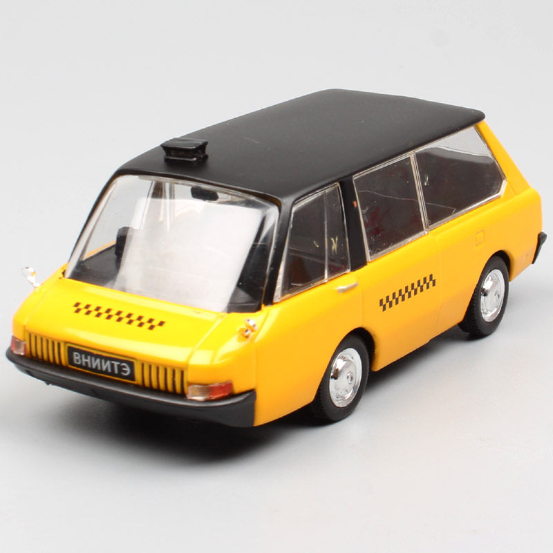 <font><b>IXO</b></font> <font><b>1:43</b></font> Scale Russia Soviet USSR VNIITE-PT Soviet Taxi Minibus Van conecpt diecast model cars vehicles toy for collection kids image