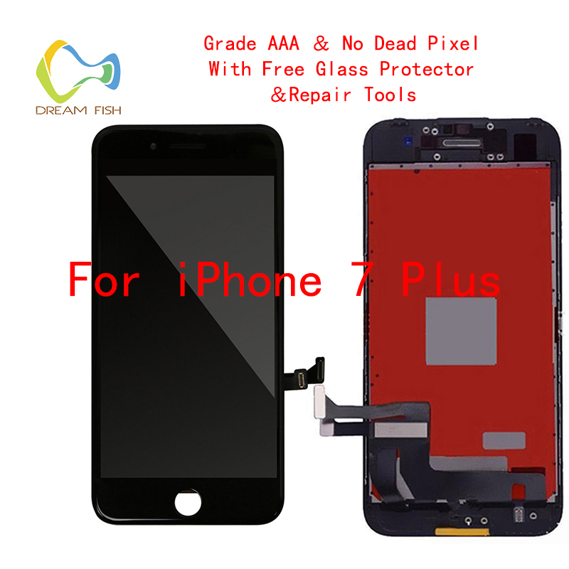 2018 100% AAAA LCD Screen For IPhone 7 Plus Screen LCD Display Digitizer Touch Module 7 Plus Screens Replacement LCDS Celular2018 100% AAAA LCD Screen For IPhone 7 Plus Screen LCD Display Digitizer Touch Module 7 Plus Screens Replacement LCDS Celular
