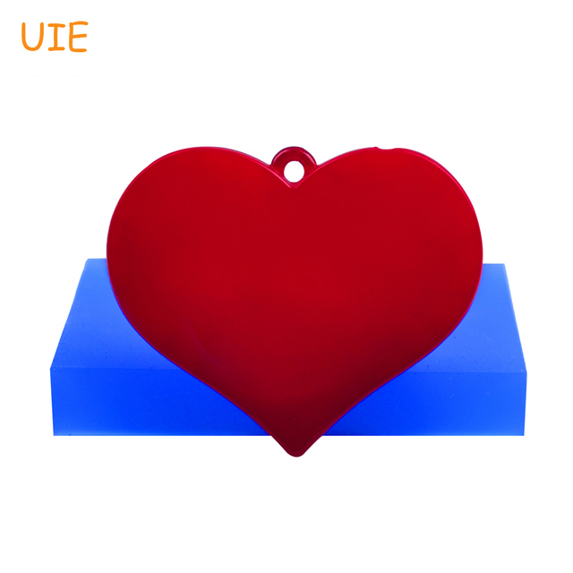 Pyl529u 539mm Large Heart Silicone Mold Heart Shape Jewellery Mold