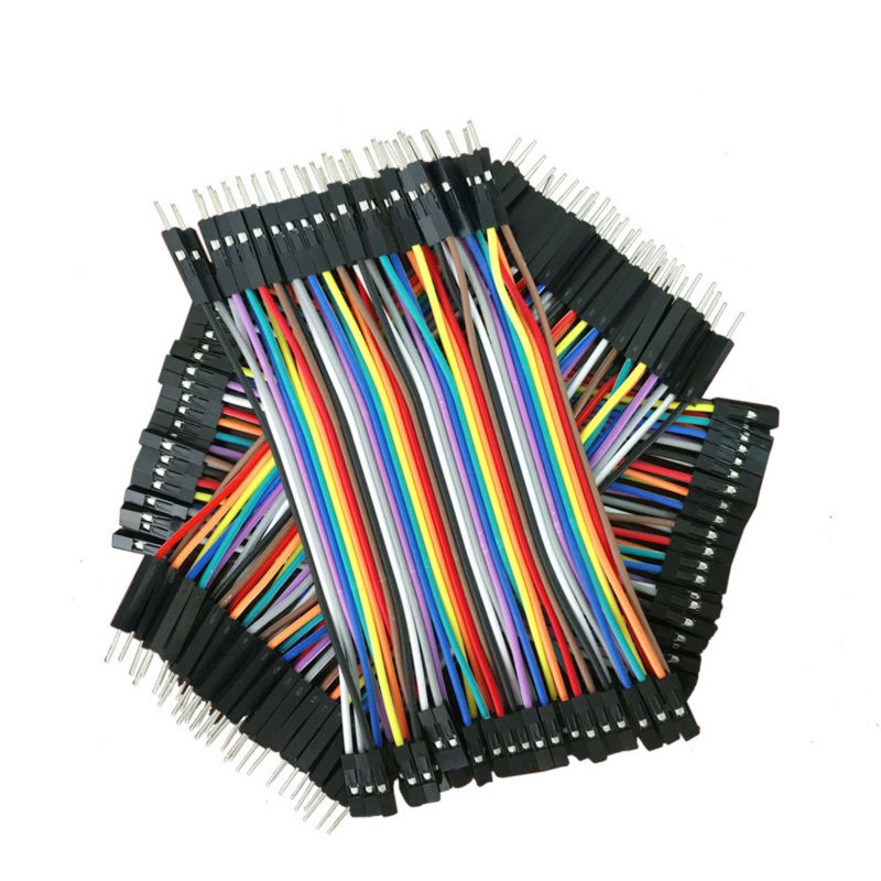 Dupont Line 120pcs 10cm Male to Male Male to Female and Female to Female Jumper Wire