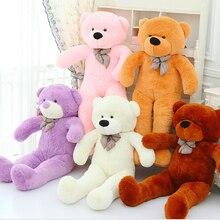 60 см 80 см 100 см 120 см Гигантский Большой размер плюшевый медведь Kawaii Плюшевые игрушки peluches чучело животных Juguetes девочки игрушки в подарок на день рождения