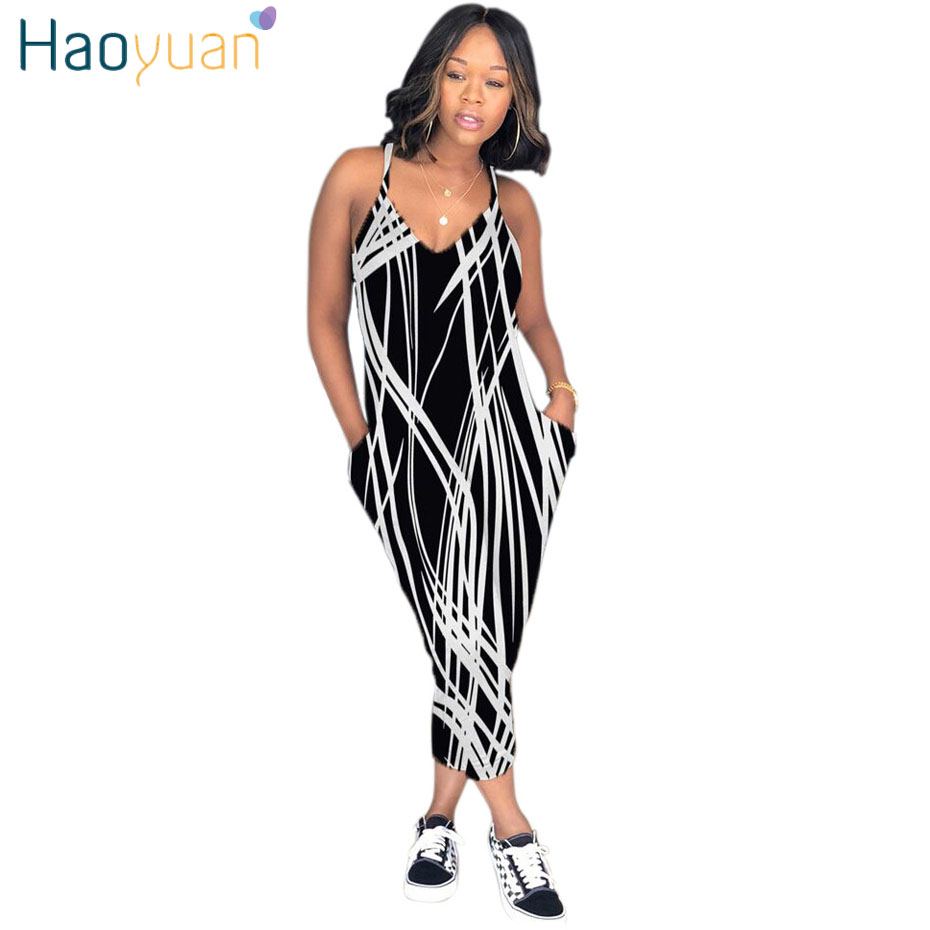 575705aecb0 Detail Feedback Questions about HAOYUAN Plus Size Sexy Spaghetti Strap Rompers  Womens Jumpsuit Rainbow Tie Dye Print Backless Leotard Overalls Casual ...