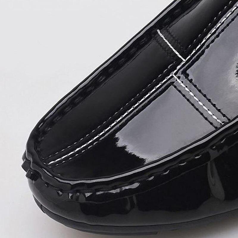 Main Paresseux 44 Razamaza Décoration Hommes rouge La Chaussures Casual En 39 Métal Appartements Couleur Glissement Mâle Noir Solide À Taille Sur Mode De wA8RpqwaP