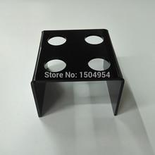black 4 Holder Acrylic Ice Cream Cone/ ice cream stand