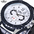 Men Watch Top Luxury Brand Winner Automatic Mechanical Watches Men Business Wristwatch Calendar Rotatable Dial Herren Uhren