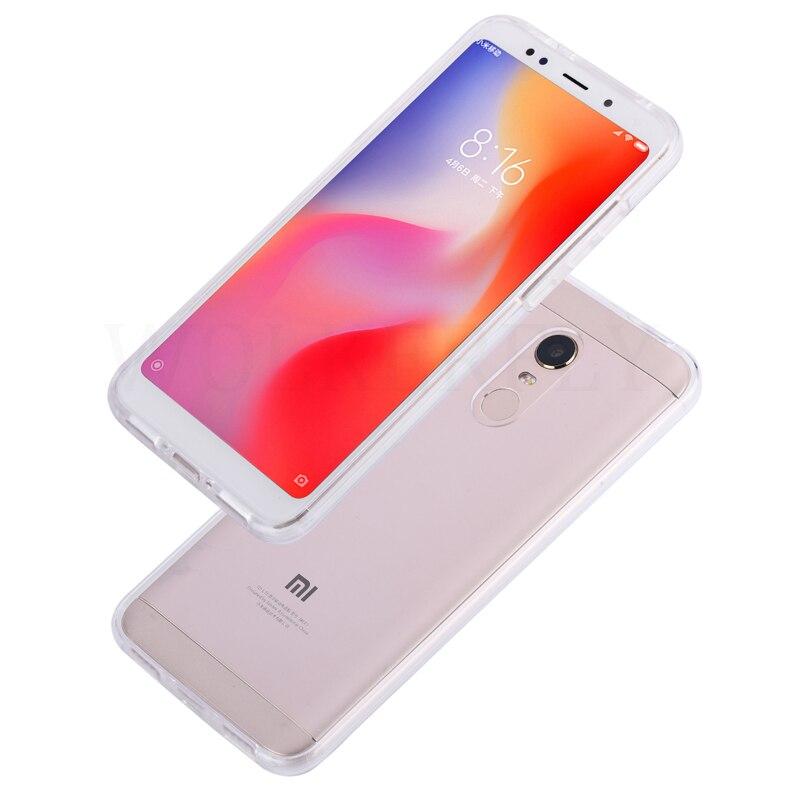 360 Full Body Cover Case For Xiaomi Mi A2 Lite A1 5X Mi8 8 SE Hard PC + TPU On For Xiaomi Redmi 5 Plus Note 4X 5 4 5A Pro Cases