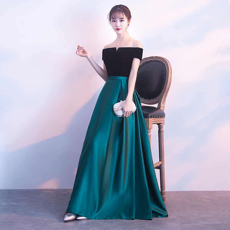 aea6977d677 ... Turquoise Bridesmaid Dresses 2019 Satin Long A-Line Short Sleeves  Wedding Party Prom Girl Dresses ...